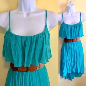 As U Wish Belted Dress